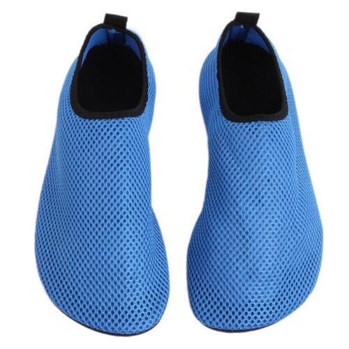 Women Men Skin Water Shoes Aqua Socks Yoga Exercise Pool Beach Swim Slip Surf DD