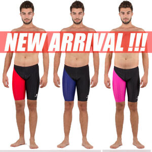 5bf2c78bb2 NWT HXBY 9163 MEN'S SWIM SHORTS COMPETITION TRAINING RACING JAMMER ...