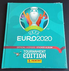 Panini UEFA EURO 2020 Tournament Edition Blue Hardcover Album South America