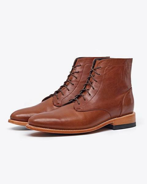 botas de tobillo alto, botas de recreo masculino.