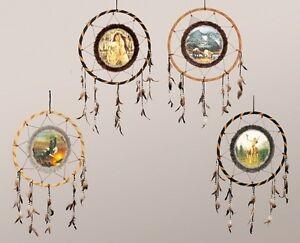 Traumfaenger-Indianer-Spirit-60cm-MAGIE-Wolf-Dreamcatcher-Indianer-Mystik-NEU