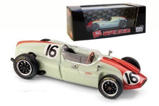 Venta barata Brumm r319b r319b r319b Cooper T51 Monaco Gp 1960-Chris Bristow 1 43 Escala  venta