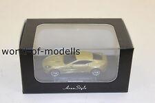 FrontiArt HO 09 Aston Martin One 77 GOLD 1:87 H0 NEU in OVP limitiert