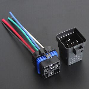 car truck 12v 40a spdt relay socket plug 5pin 5 wire. Black Bedroom Furniture Sets. Home Design Ideas