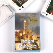 Holy Land Israel Playing Cards, Bible Biblical Christian Sites Jesus, Christmas