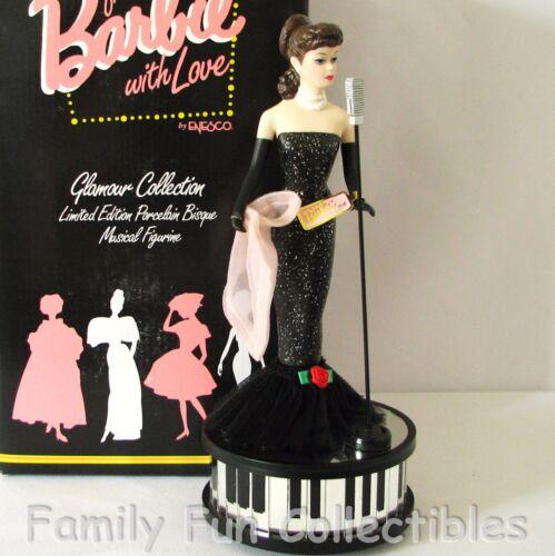 BARBIE~1996 Enesco~LE Porcelain Doll~Musical Figurine~Solo in the Spotlight~MIB