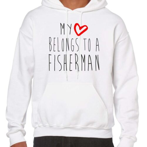 My Heart Belongs To A Fisherman Hoodie