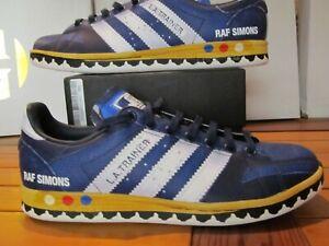 Details about DS Adidas Originals Raf Simons LA Trainer Stan Smith Legend Silver Blue 7 EE7951