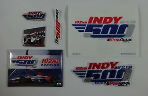 2018-Indianapolis-500-102ND-Collector-Event-Car-Mount-Pin-Patch-Decal-Magnet