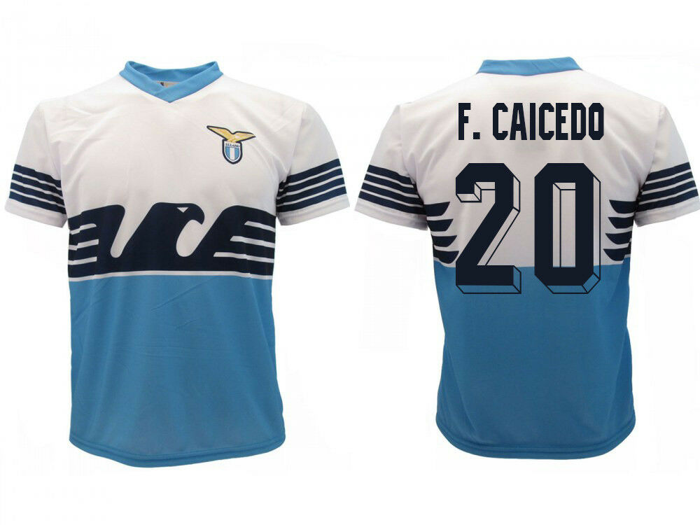Trikot Lazio Lazio Trikot Rom Caicedo 2019 Offizielles Produkt SS Home Adler Felipe 20 F. 9bdb95