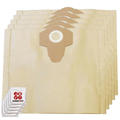 Dust Bags for JCB 70341 Vacuum Cleaner 30L x 5 + Fresheners