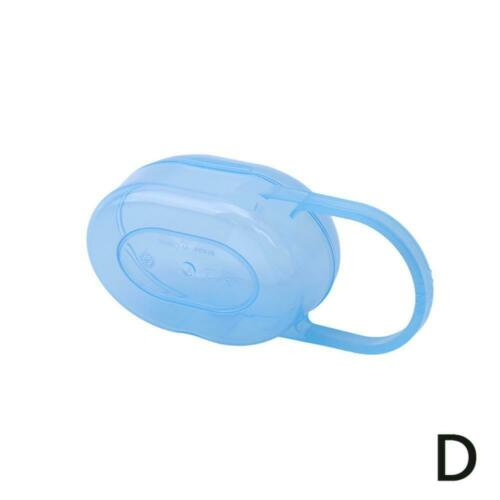 Baby Infant Pacifier Box Case Holder Portable Soother Container Storage