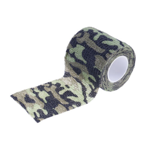 1Pc 5Cm X 4.5M Waterproof Hunting Camouflage Camouflage Stealth Tape Xf