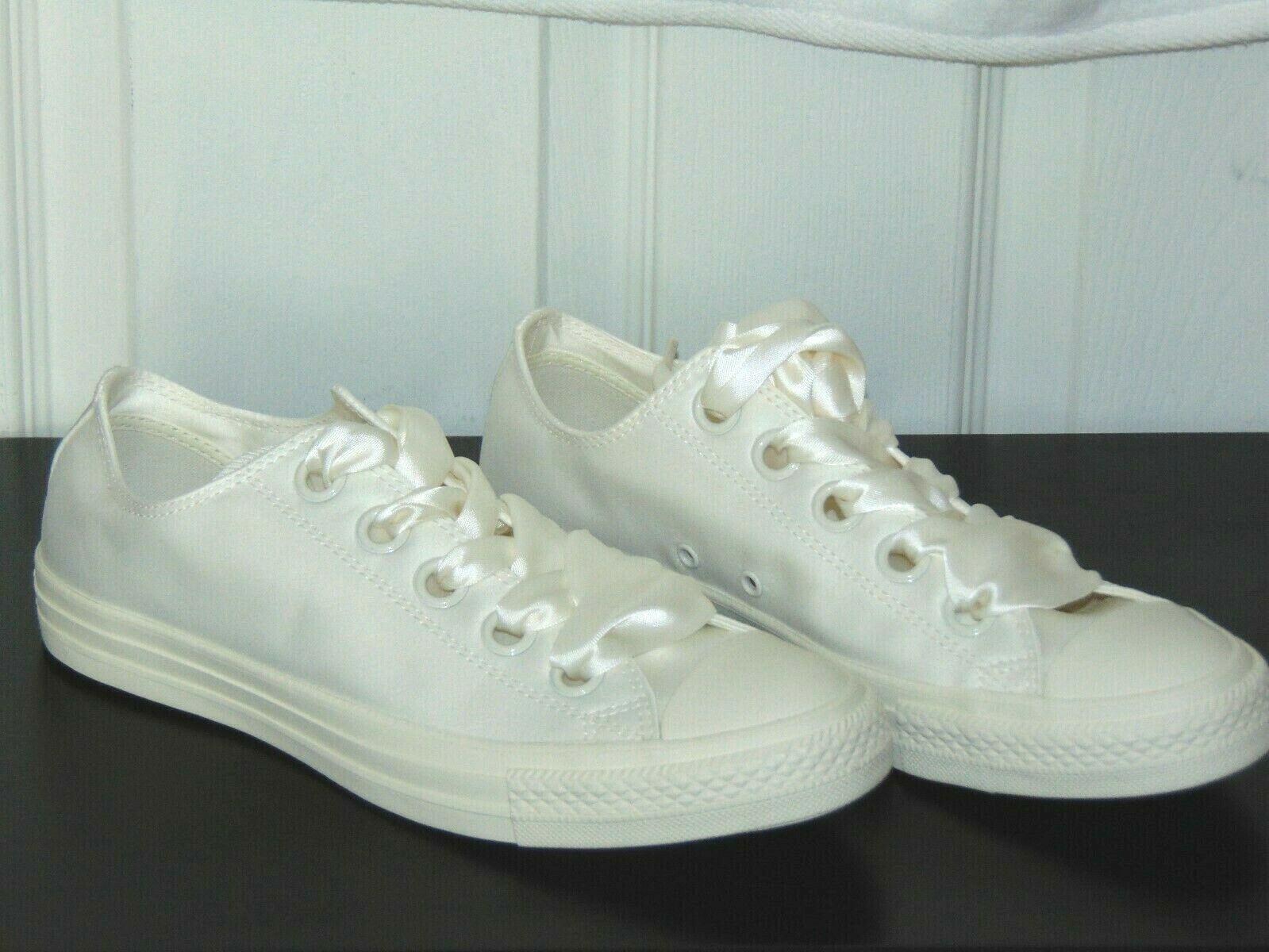 Converse CTAS Big Eyelet Sneakers Egret