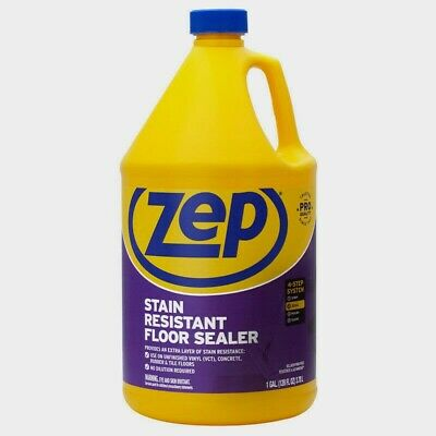 Zep Stain Resistant Floor Sealer Gal Clear Vct Concrete