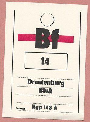ältere Beutelfahne Bahnpost, Post, Dp, Deutsche Post Zahlreich In Vielfalt