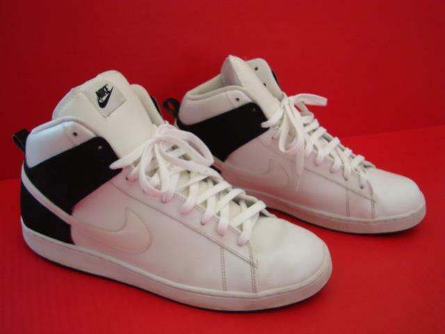 Nike Jordan Sz 13  White/Blk Santa Cruise Mid  Athletic Basketball Shoes 2009 Seasonal clearance sale