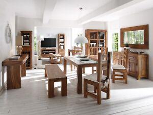 Massiv Bank Palisander Esstisch Möbel 180x90 Stühlen Zu 5 Details Cubus Mit 4R3LAjq5