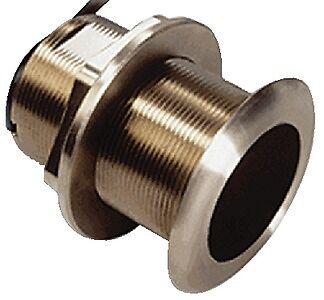 New B60 Tilted Element Bronze Thru-hull Transducer garmin 010-10982-21 8 deg - 1