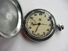 Vintage pocket Watch MOLNIJA decorative ornament, SOVIET/USSR, RUSSIA