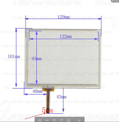 NEW For IDEC HG2G-5FT22-TF-S Touch Screen Glass Panel 60 days warranty #H639E YD