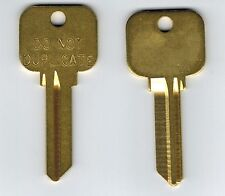 Schlage SC9 E 1145 6 pin Do Not Duplicate Key Blank X2