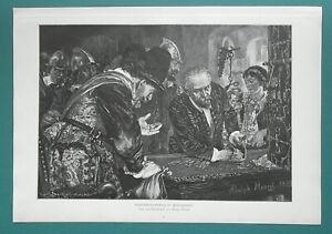 POLITICS-Levying-Party-Contributions-1892-Victorian-Era-Print