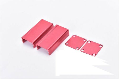 Extruded Aluminum Box Red Enclosure Electronic Project Case DIY 50*25*25mm