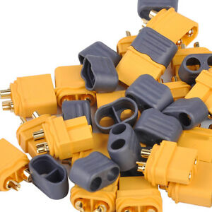10-Paar-Nylon-XT60-Hochstrom-Stecker-Buchse-Akku-fuer-RC-Lipo-battery-amp-motor