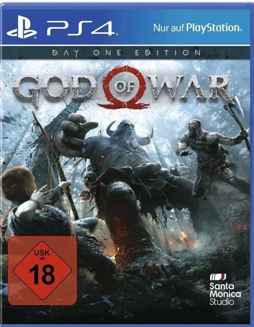 God of war PS4 Day one Edition (Sony PlayStation 4) NEUWARE