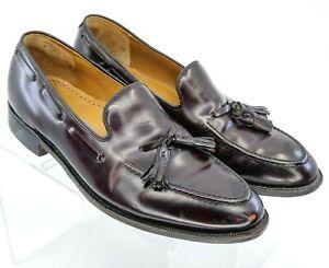 Johnston Murphy Deerfield Loafer Men's 9.5 D/B Brown Leather Slip On Dress Shoes