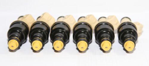 6 Pieces Fuel Injectors fit 87-89 Ford E-150,E250 E-350 Econoline 4.9L I6 FH712