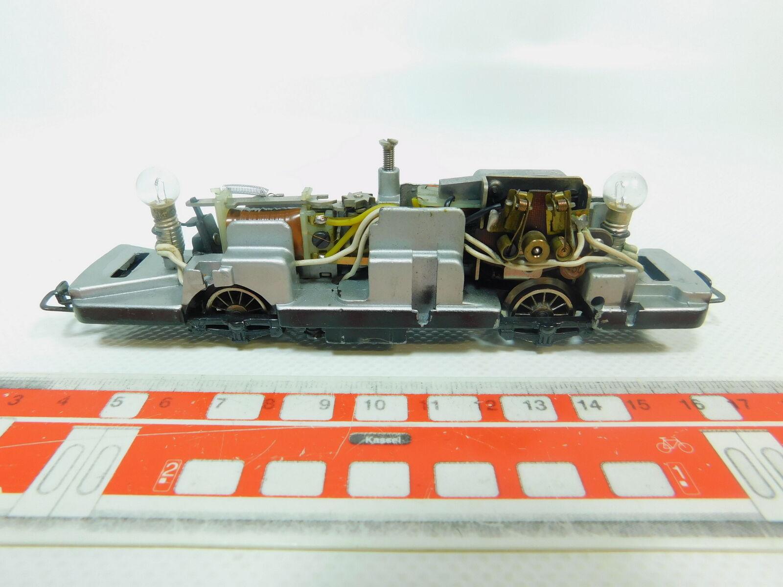 BP513-0, 5 Märklin H0 Ac Chassis (without Sander) for 3016 Railbus Db 800
