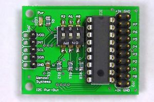 Test-u-Experimentierboard-I2C-Bus-Power-Out-Arduino-Raspberry-Pi-PCF8574-IIC