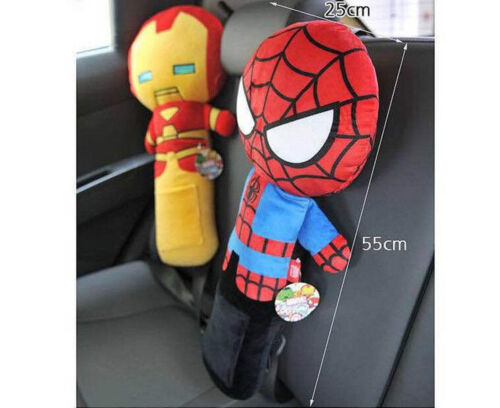CARTOON Car Auto Safety Seat Belt Shoulder Pad Cover Children Appease Pillow Toy