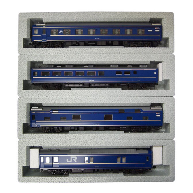 KATO 3-515 JR 24 HO Scale Sleeper Express Limited Hokutosei Basic 4 cars set std
