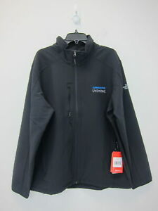 The-North-Face-Men-039-s-Stretch-Soft-Shell-Jacket-XL-Black-NWT