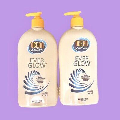 2 Ocean Potion Ever Glow Daily Moisturizer Tanning Lotion Skin Darkener 20 5 Oz 774000749 Ebay