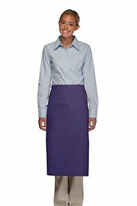 Daystar-Apron-1-Style-120-one-pocket-full-bistro-apron-w-divide-Made-in-USA