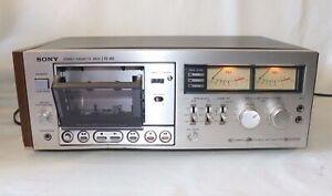 Vintage-Sony-TC-K6-Dolby-sola-cinta-Cassette-Deck-Cabeza-Para-Repuestos-O-Reparacion