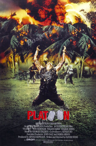 Platoon Movie Poster Glossy Finish Posters USA MOV068