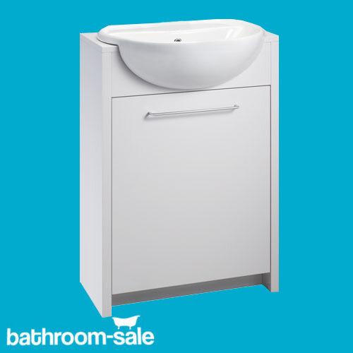 OPENSPACE Gloss White 305 Bathroom semi Inset Inset Inset Unit Inc. Free Waste | D'arrivée Nouvelle Arrivée  55121a