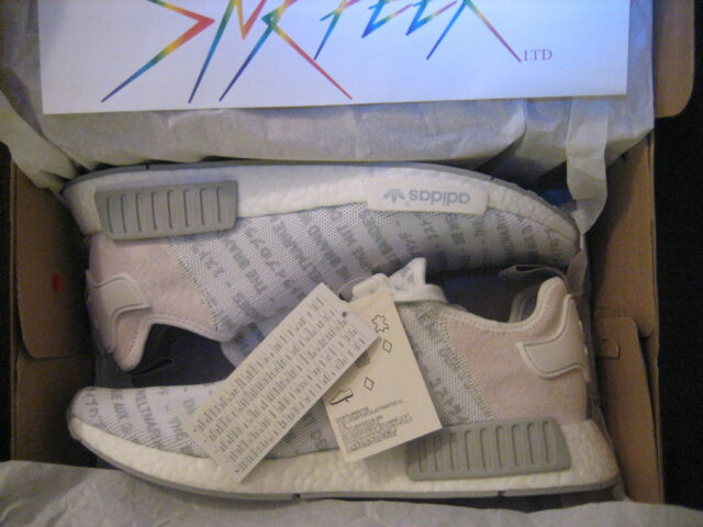 Details about Adidas NMD R1 Whiteout 3 Three Stripes Size 8.5. S76518. Ultra Boost PK. japan