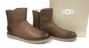 0f1ef2b22c6 Details about UGG CLASSIC MINI ABREE LEATHER Bun Bruno Boots 1017851  Women's Sizes
