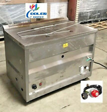New 60l Propane Deep Fryer With Thermostat Or Natural Gas