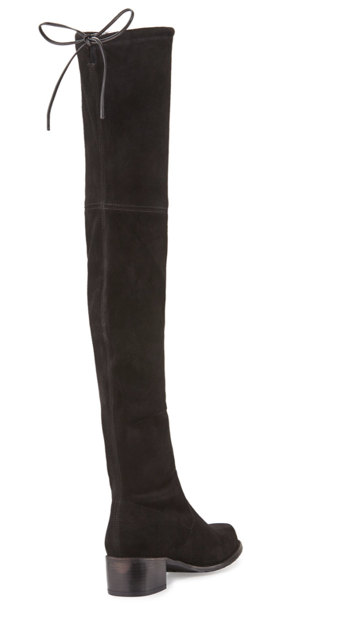 Stuart Weitzman Midland Suede Over-The-Knee Over-The-Knee Suede Boot … bbebad