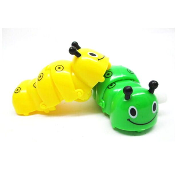 Children Fun  Wind Up Toys For Caterpilla Clockwork Animals The Worm 、UK