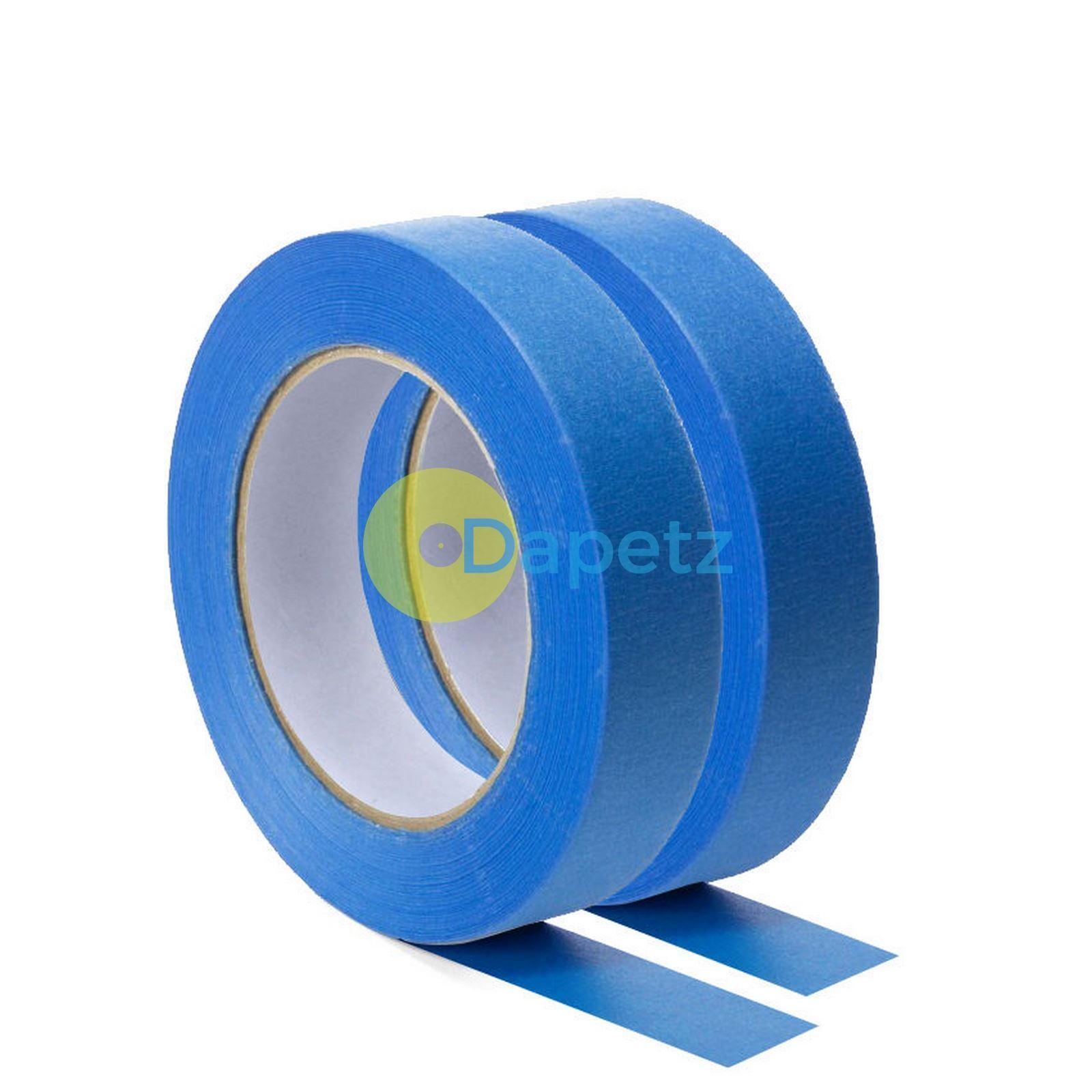 Blau Masking Tape Clean Peel UV Resistant Painters/Decorators 24mm x 50m
