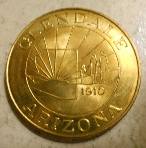 Glendale Arizona transit token AZ280A