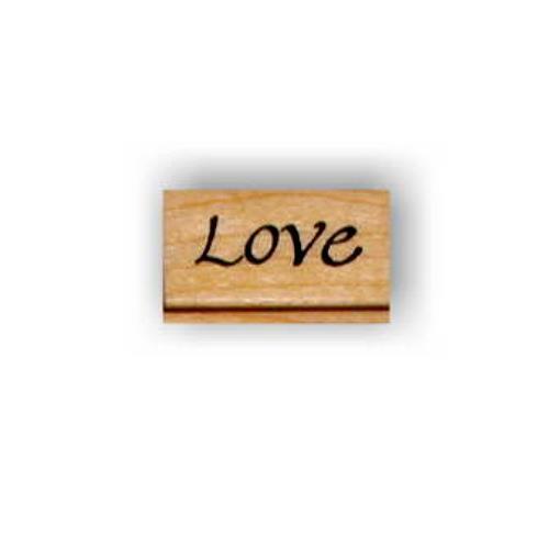 LOVE Mounted rubber stamp Anniversary Valentine Wedding #3